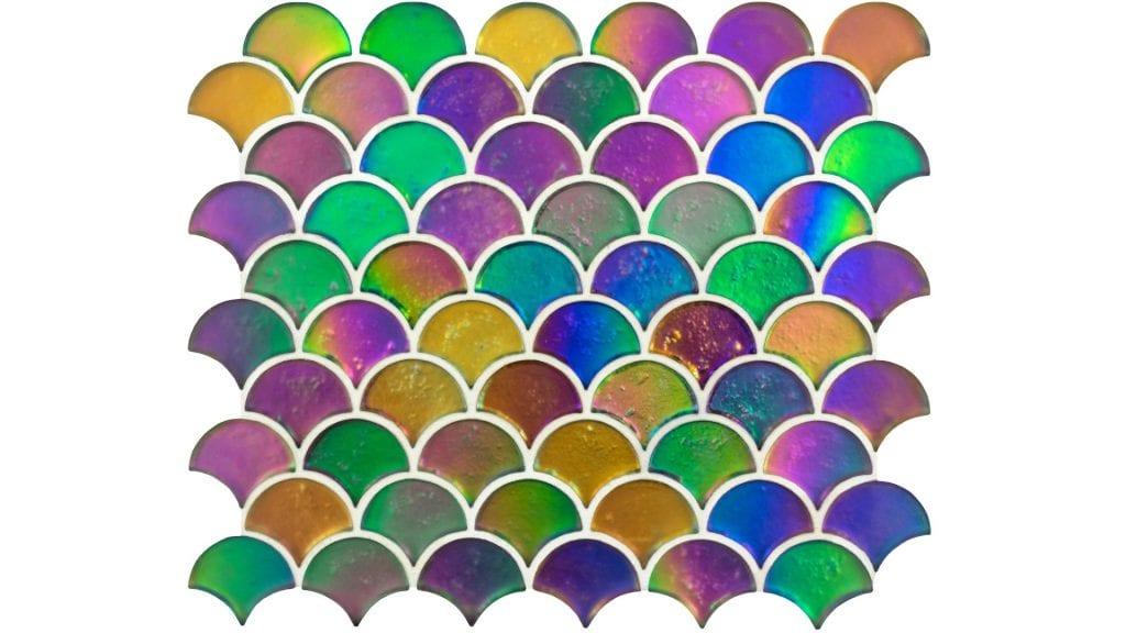 Mosaics Gw Aquscmos Aqua Scale Clear 256 x 296 x 8mm