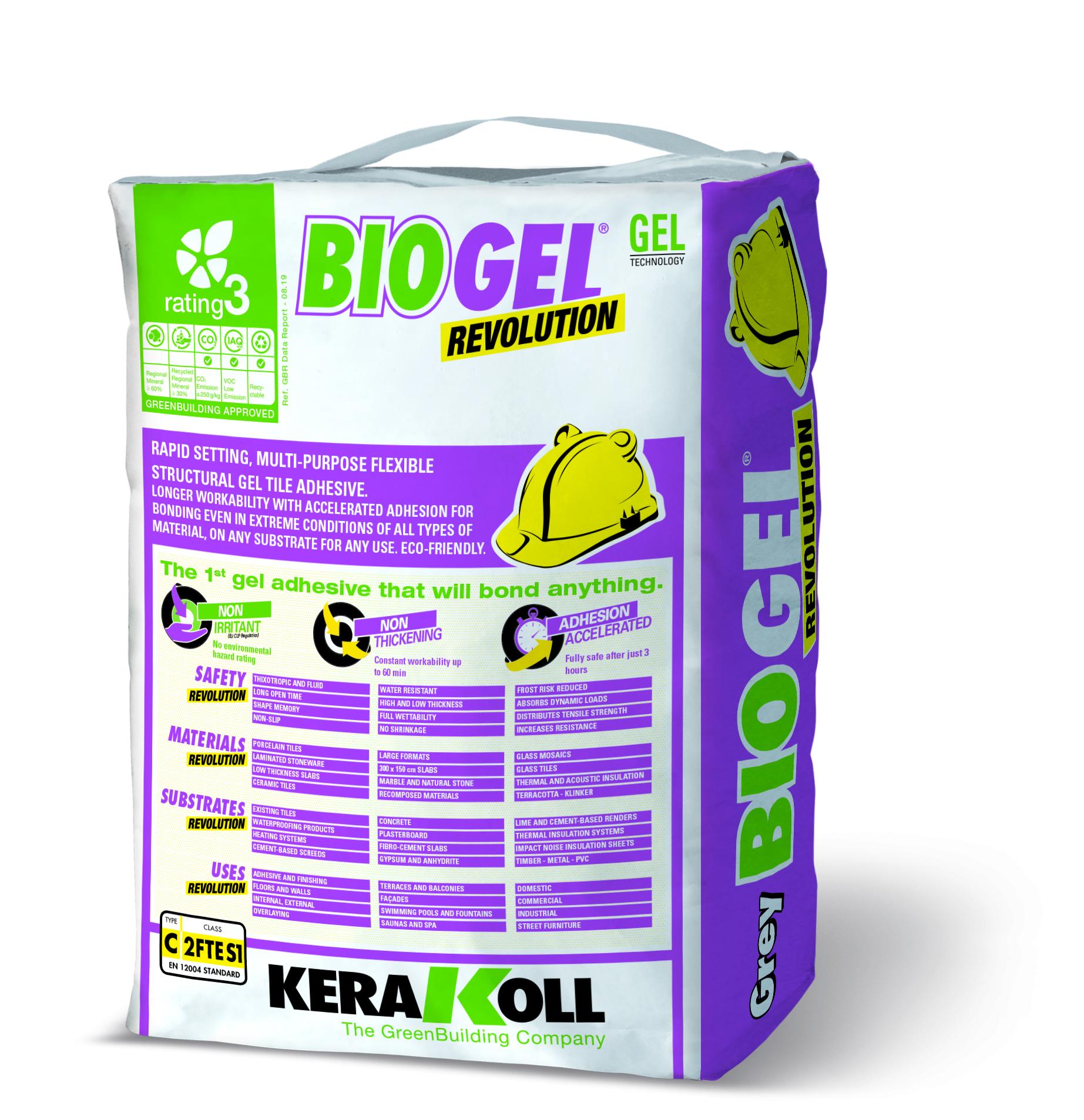 Biogel Revolution Grey 20kg