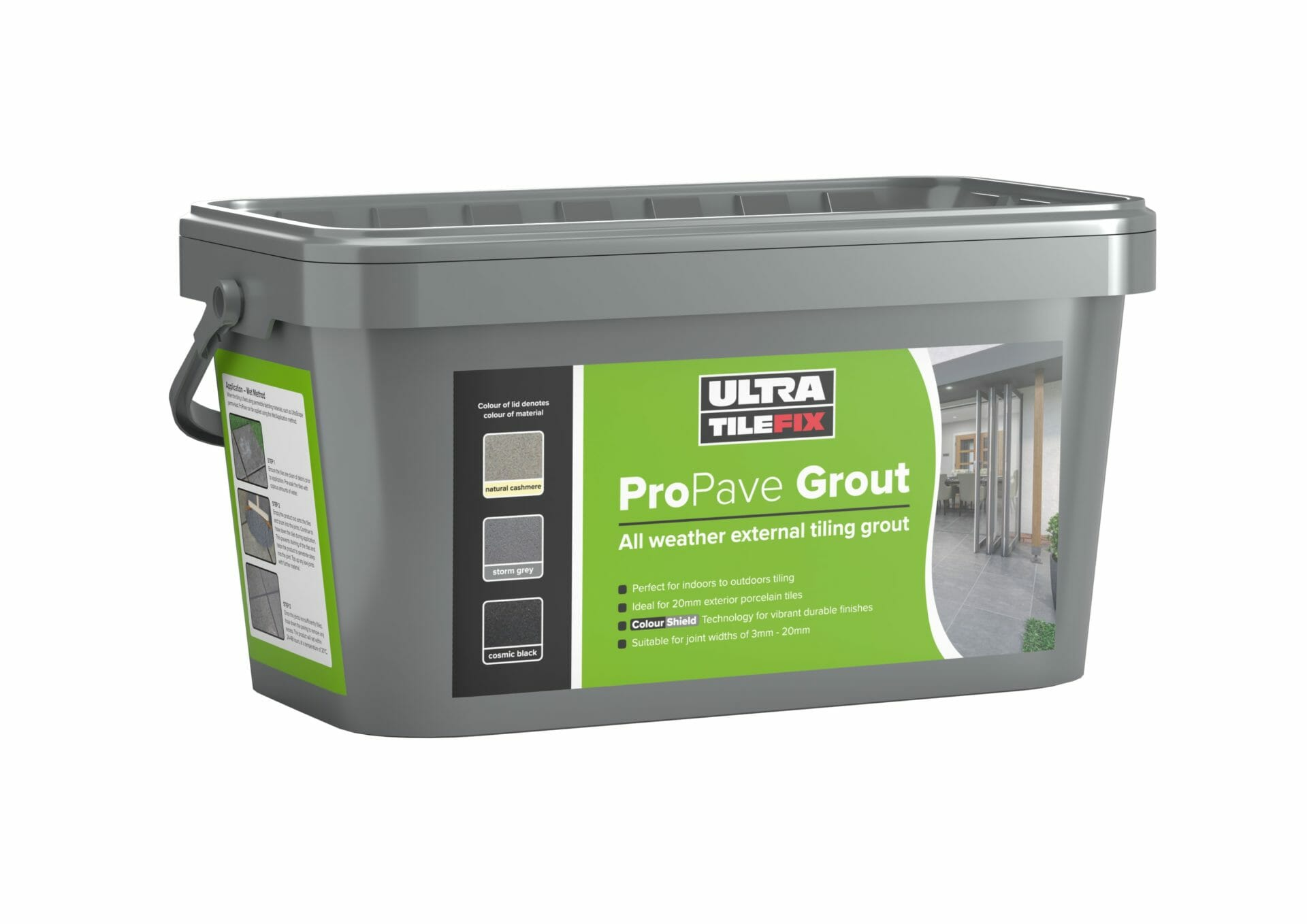 Pro Pave Grout Bucket
